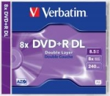 VERBATIM DVD+R DOUBLE LAYER 8,5GB