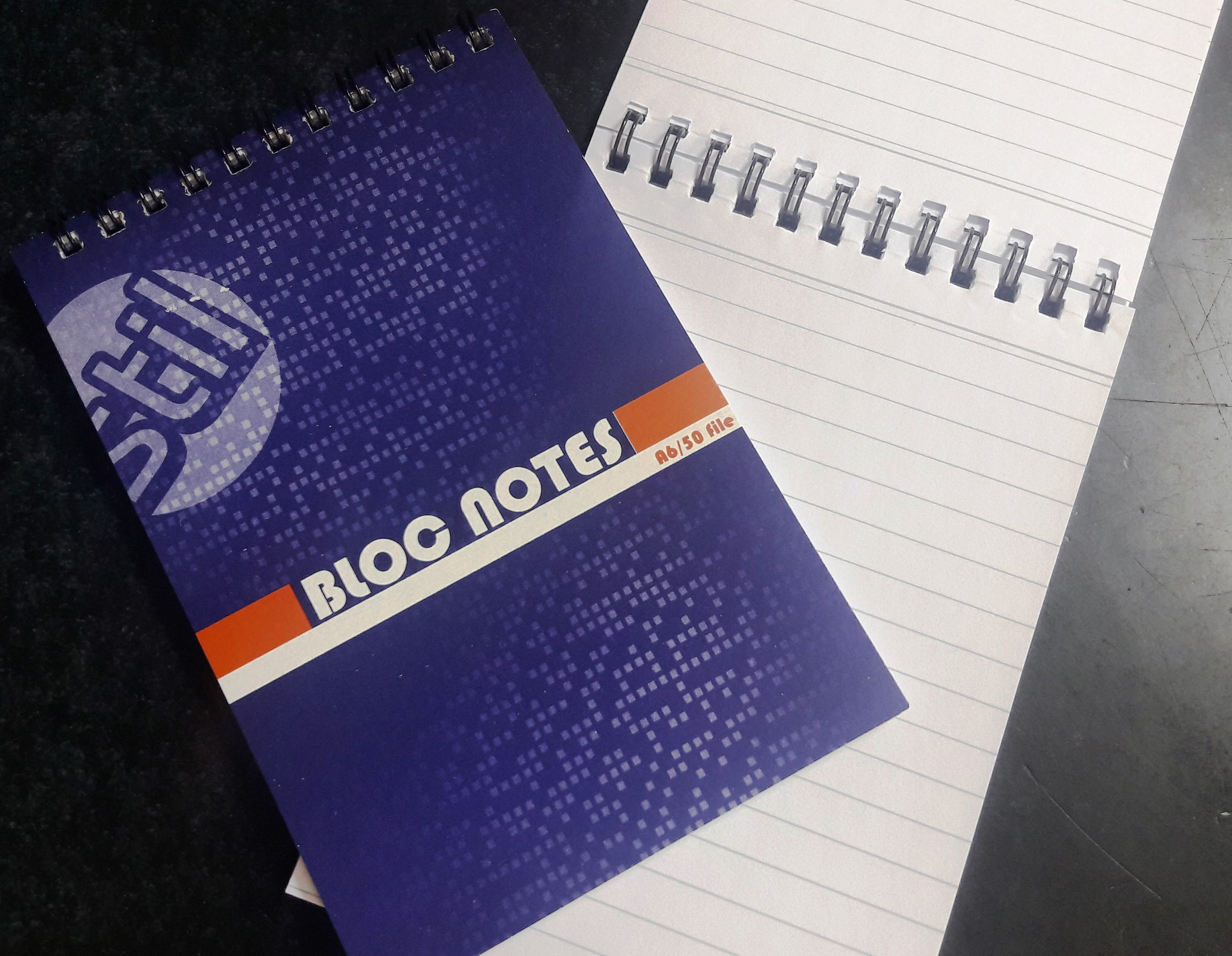BLOC NOTES A5, 50 FILE