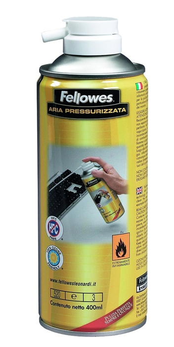 SPRAY CURATARE CU AER COMPRIMAT FELLOWES