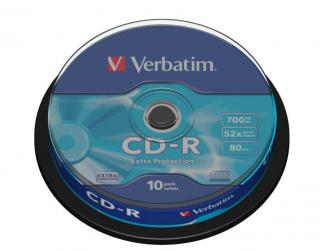 VERBATIM CD-R EP SPINDLE10