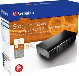 "VERBATIM 3.5"" HDD 2TB CAMBRIDGE"